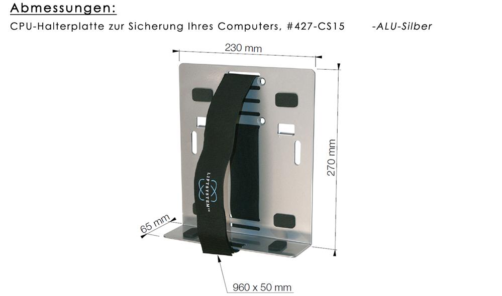 CPU-Halterplatte