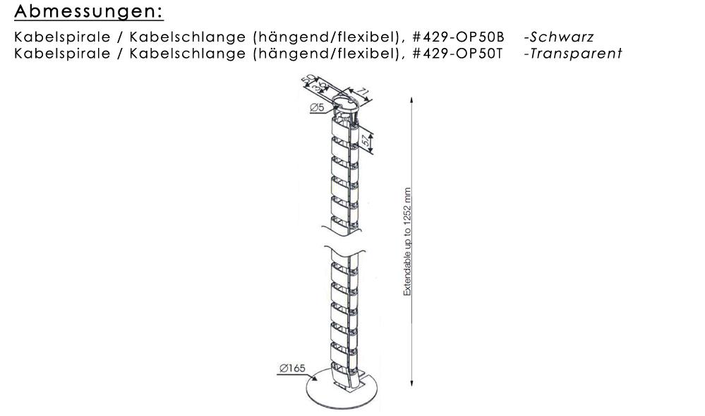 Kabelspirale / Kabelschlange