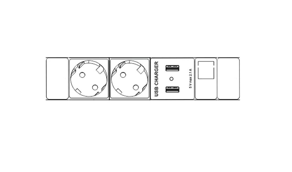 Axessline Desk I2CD