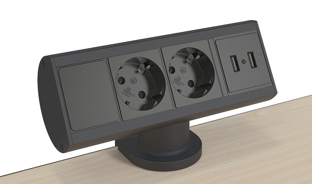 Steckdosenleiste Axessline Desk
