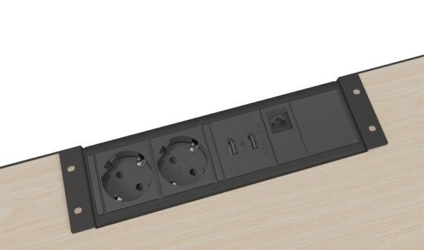 Axessline Desk Datenleiste #935-R2DU