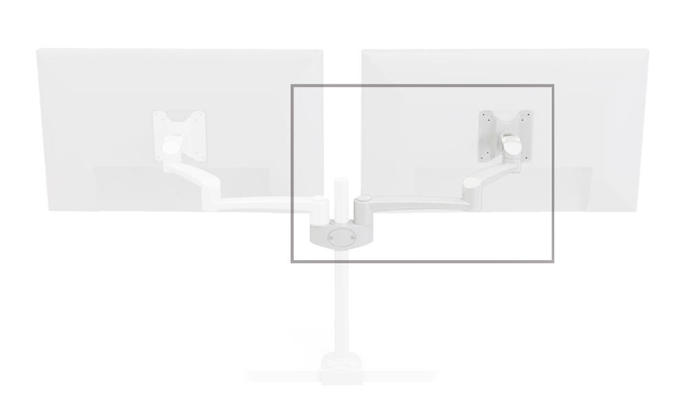 Zusatzarm für Monitorhalterung OSLO