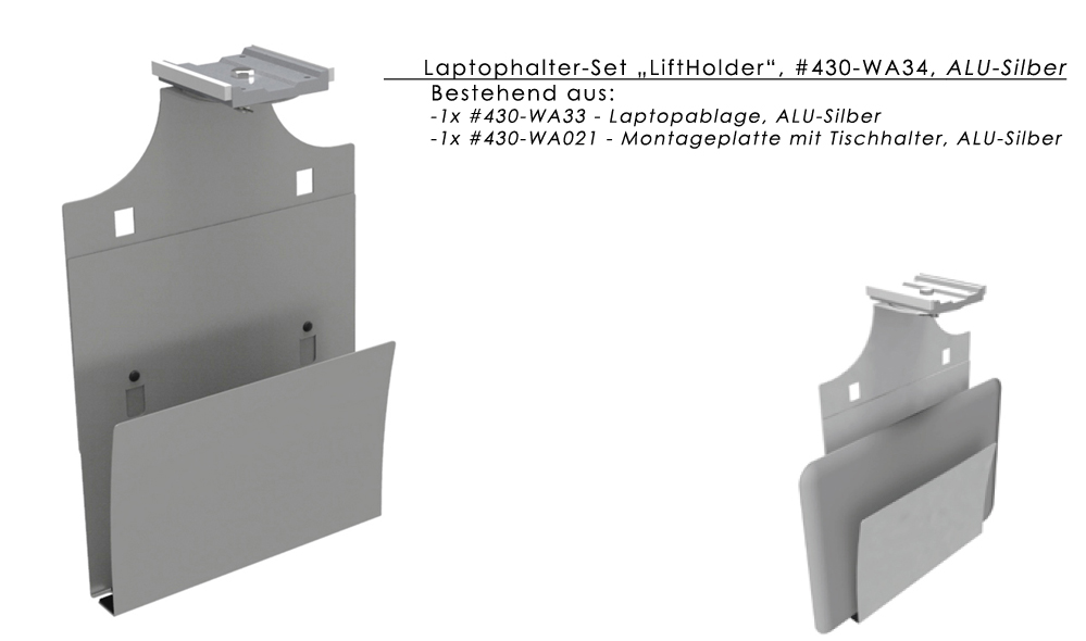 Laptophalter / Laptopablage LiftHolder