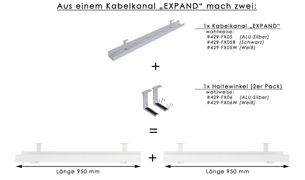 """Kabelkanal / Kabelwanne """"EXPAND"""""""